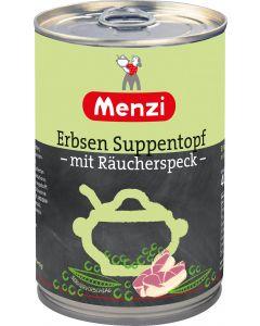 Erbsen Suppentopf mit Räucherspeck von MENZI, 400g