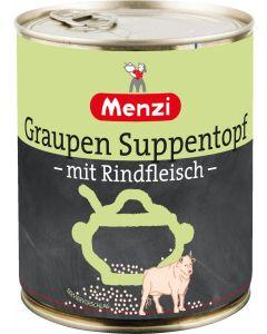 Graupen Suppentopf mit Rindfleisch von MENZI, 800g
