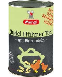 Nudel Hühner Topf von MENZI, 4.200g