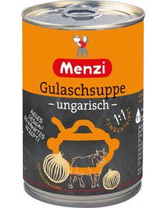 Gulaschsuppe ungarisch 1:1 von MENZI, 400ml
