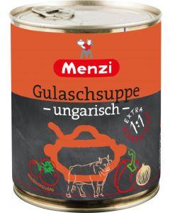 Gulaschsuppe ungarisch Extra 1:1 von MENZI, 800ml