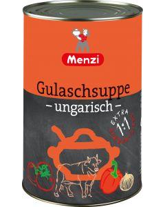 Gulaschsuppe ungarisch EXTRA 1:1 von MENZI, 4.200g