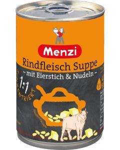 Rindfleischsuppe 1:1 mit Eierstich von MENZI, 400ml