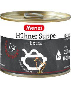 Hühner Suppe EXTRA 1:7 von MENZI, 5x200ml