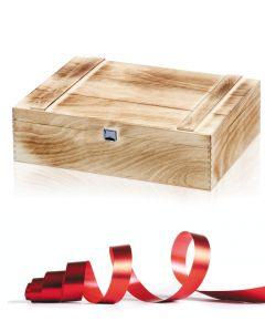 ANTIKE HOLZKISTE Geschenkeverpackung zum Dazubestellen