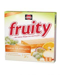 Fruity Fruchtriegel gelbe Multifrucht, 144 g