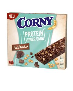 CORNY Protein Lower Carb Schoko, 4er Set