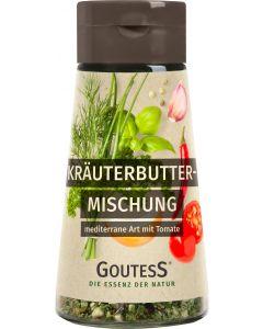 Kräuterbutter mediterran von Goutess 20 g