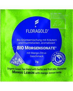 Bio Grüntee Morgensonate® 100er Pyramidenbeutel von Floragold,