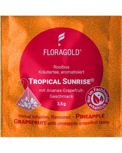 Rooibostee Tropical Sunrise® 100er Pyramidenbeutel von Floragold,
