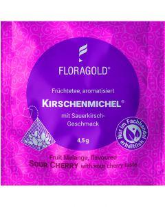 Früchtetee Kirschenmichel® 100er Pyramidenbeutel von Floragold,