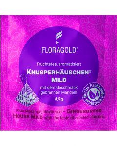 Früchtetee Knusperhäuschen® mild 100er Pyramidenbeutel von Floragold,