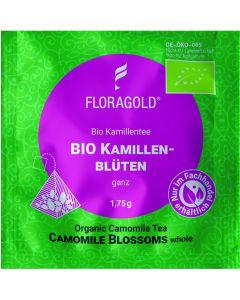 Bio Kamillenblüten ganz 100er Pyramidenbeutel von Floragold,