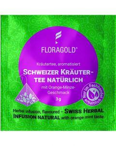 Kräutertee Schweizer Kräutertee natürlich 100er Pyramidenbeutel von Floragold,
