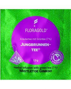 Kräutertee Jungbrunnentee® 100er Pyramidenbeutel von Floragold,
