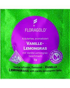 Kräutertee Vanille Lemongras 100er Pyramidenbeutel von Floragold,