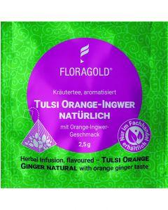 Kräutertee Tulsi Orange Ingwer natürlich 100er Pyramidenbeutel von Floragold,