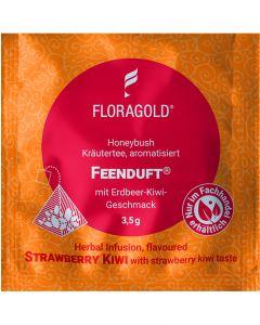 Grüner Honeybush Tee Feenduft 100er Pyramidenbeutel von Floragold,