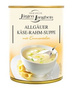 Jürgen Langbein Allgäuer Käse-Rahm-Suppe 400 ML