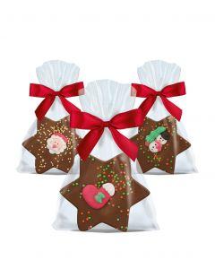 Schokoladen-Sterne von arko, 30 g