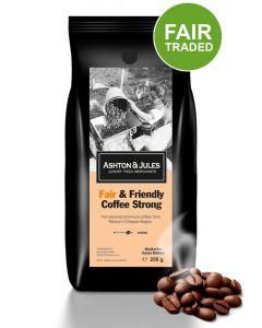 Fair & Friendly Coffee Strong von Ashton & Jules 500 g