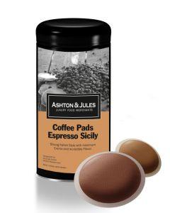 Luxus Kaffeepads Espresso Sicily von Ashton & Jules 16er