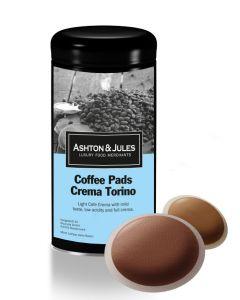 Luxus Kaffeepads Crema Torino von Ashton & Jules 16er