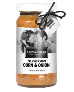 Corn & Onion Dip Sauce von Ashton & Jules 200 ml
