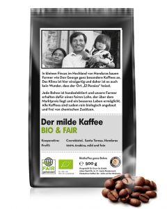 BIO & FAIR Der milde Kaffee 500 g