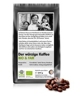 BIO & FAIR Der würzige Kaffee 500 g