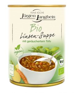 Jürgen Langbein Bio Linsen Suppe, 400 ml