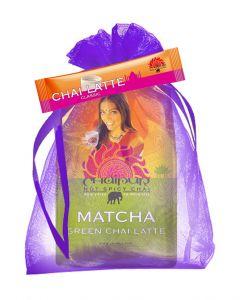 CHAIPUR Green Matcha 500 g im Organza Geschenksäckchen