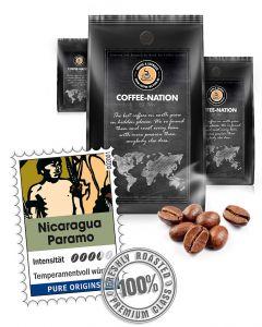 Nicaragua Paramo Kaffeebohnen von Coffee-Nation 500 g