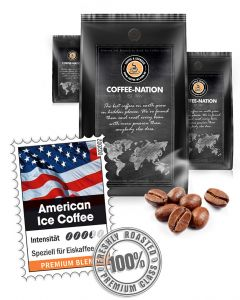American Ice Coffee Luxuskaffee von Coffee-Nation 500 g