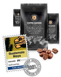 Guatemala Maya Kaffeebohnen von Coffee-Nation 500 g