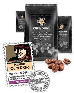 Karamell Azucar Cara D'Or Karamell Kaffee von Coffee-Nation 500 g