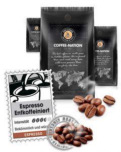 Espresso Lunata Entkoffeiniert von Coffee-Nation 500 g