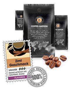 Aroma-Kaffee Zimt Kaffeebohnen von Coffee-Nation 500 g