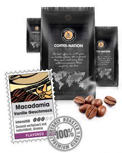 Aroma-Kaffee Macadamia & Vanilla Kaffee von Coffee-Nation 500 g