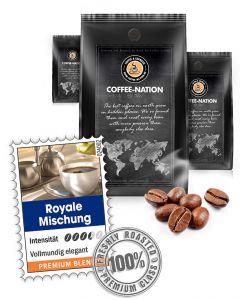 Royale Mischung Premium Kaffeemischung von Coffee-Nation 500 g