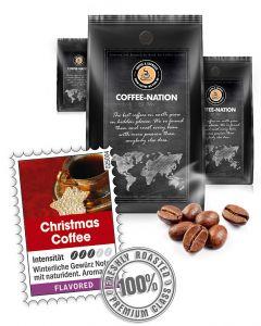 Aroma-Kaffee Christmas Kaffeebohnen von Coffee-Nation 500 g