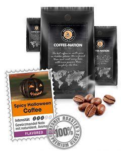 Aroma-Kaffee Halloween Kaffeebohnen von Coffee-Nation 500 g