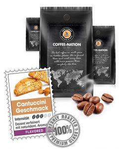 Aroma-Kaffee Cantuccini Kaffeebohnen von Coffee-Nation 500 g