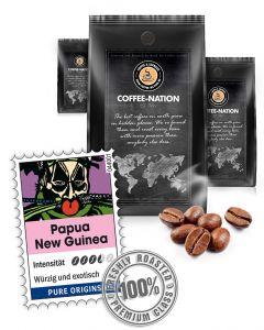 Papua New Guinea Kaffeebohnen von Coffee-Nation 500 g