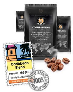 Coffee-Nation Kaffee Mischung Caribic Fuerte 500 g