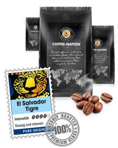 El Salvador Tigre Kaffeebohnen von Coffee-Nation 500 g