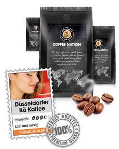 Düsseldorfer Kö`FFEE Luxus Kaffeebohnen von Coffee-Nation 500 g