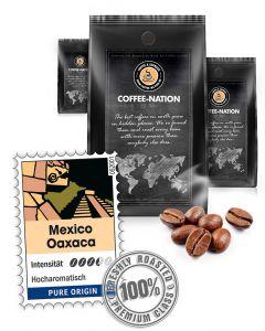 Mexico Oaxaca Premium Kaffeebohnen von Coffee-Nation 500 g