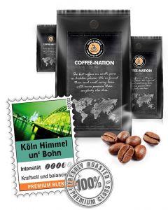 Kölner Himmel un Bohn Kaffeebohnen von Coffee-Nation 500 g