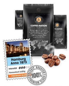 Hamburg Anno 1873 Premium Kaffeebohnen 500 g